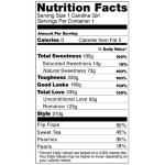Carolina Girl Nutrition Facts