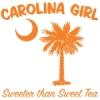 Orange Carolina Girl Sweeter than Sweet Tea