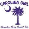 Purple Carolina Girl Sweeter than Sweet Tea