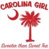 Red Carolina Girl Sweeter than Sweet Tea