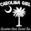 White Carolina Girl Sweeter than Sweet Tea