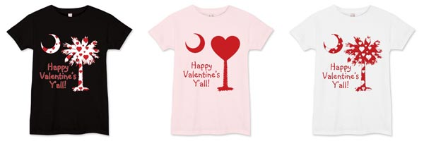 Happy Valentine's Y'all Palmetto Moon Shirts